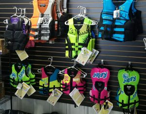 life jacket inventory