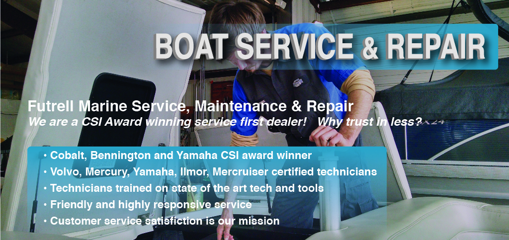 We offer boat and marine engine service on most boat brands, including Yamaha, Mercury, Ilmor, Indmar and MerCruiser marine engines. Call one of our three convenient locations to schedule service today. Or, fill out the below request form, regarding you boat's specifics and we will contact you at your convenience.