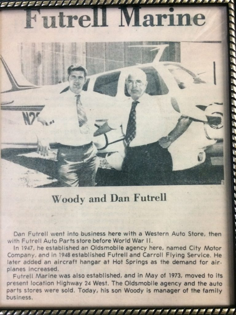 Woody and Dan Futrell