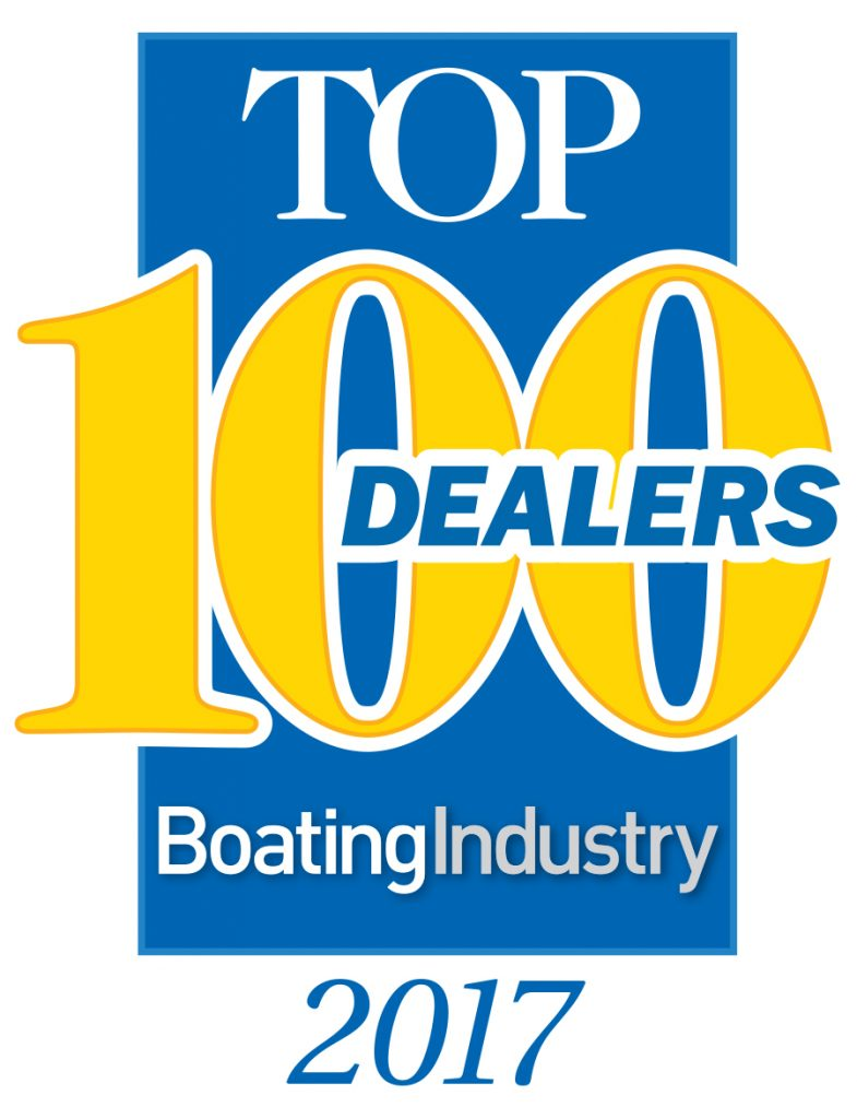 top 100 in boating industry icon